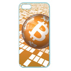 Network Bitcoin Currency Connection Apple Seamless Iphone 5 Case (color)