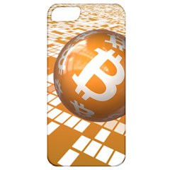 Network Bitcoin Currency Connection Apple Iphone 5 Classic Hardshell Case