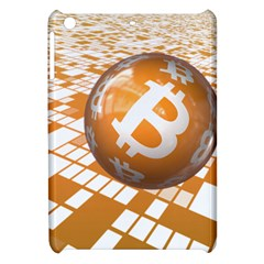 Network Bitcoin Currency Connection Apple Ipad Mini Hardshell Case