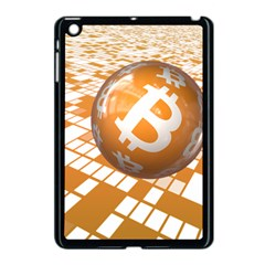 Network Bitcoin Currency Connection Apple Ipad Mini Case (black)