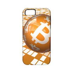 Network Bitcoin Currency Connection Apple Iphone 5 Classic Hardshell Case (pc+silicone)