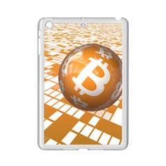 Network Bitcoin Currency Connection Ipad Mini 2 Enamel Coated Cases