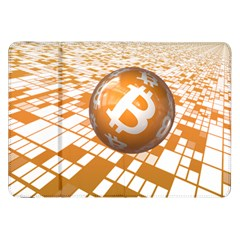 Network Bitcoin Currency Connection Samsung Galaxy Tab 8 9  P7300 Flip Case