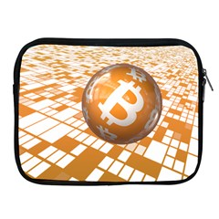 Network Bitcoin Currency Connection Apple Ipad 2/3/4 Zipper Cases