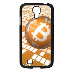Network Bitcoin Currency Connection Samsung Galaxy S4 I9500/ I9505 Case (black)