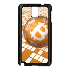 Network Bitcoin Currency Connection Samsung Galaxy Note 3 N9005 Case (black)