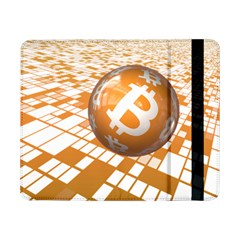 Network Bitcoin Currency Connection Samsung Galaxy Tab Pro 8 4  Flip Case