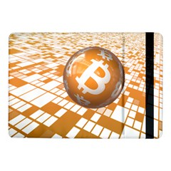 Network Bitcoin Currency Connection Samsung Galaxy Tab Pro 10 1  Flip Case
