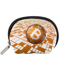 Network Bitcoin Currency Connection Accessory Pouches (small)