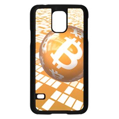 Network Bitcoin Currency Connection Samsung Galaxy S5 Case (black)