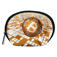 Network Bitcoin Currency Connection Accessory Pouches (medium)