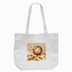 Network Bitcoin Currency Connection Tote Bag (white)