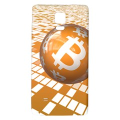 Network Bitcoin Currency Connection Galaxy Note 4 Back Case