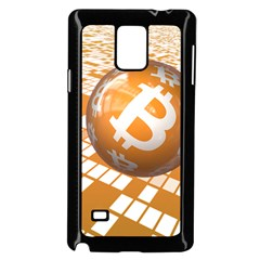 Network Bitcoin Currency Connection Samsung Galaxy Note 4 Case (black)