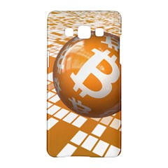 Network Bitcoin Currency Connection Samsung Galaxy A5 Hardshell Case