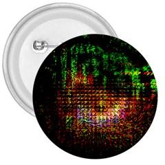 Radar Kaleidoscope Pattern 3  Buttons