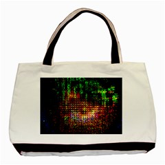 Radar Kaleidoscope Pattern Basic Tote Bag (two Sides)