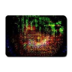 Radar Kaleidoscope Pattern Small Doormat