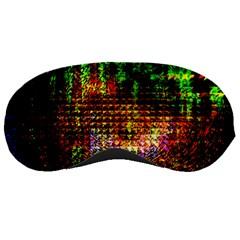 Radar Kaleidoscope Pattern Sleeping Masks