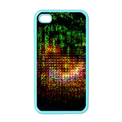 Radar Kaleidoscope Pattern Apple Iphone 4 Case (color)