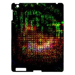 Radar Kaleidoscope Pattern Apple Ipad 3/4 Hardshell Case