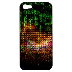 Radar Kaleidoscope Pattern Apple Iphone 5 Hardshell Case