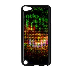 Radar Kaleidoscope Pattern Apple Ipod Touch 5 Case (black)