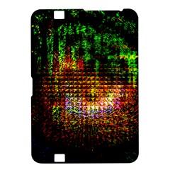 Radar Kaleidoscope Pattern Kindle Fire Hd 8 9