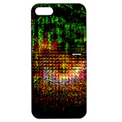 Radar Kaleidoscope Pattern Apple Iphone 5 Hardshell Case With Stand