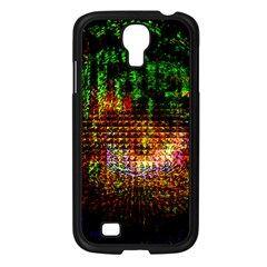 Radar Kaleidoscope Pattern Samsung Galaxy S4 I9500/ I9505 Case (black)