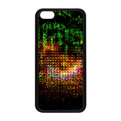 Radar Kaleidoscope Pattern Apple Iphone 5c Seamless Case (black)