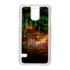 Radar Kaleidoscope Pattern Samsung Galaxy S5 Case (white)