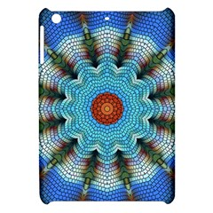 Pattern Blue Brown Background Apple Ipad Mini Hardshell Case