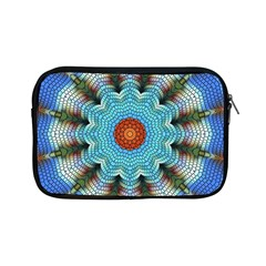 Pattern Blue Brown Background Apple iPad Mini Zipper Cases