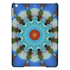 Pattern Blue Brown Background Ipad Air Hardshell Cases