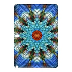 Pattern Blue Brown Background Samsung Galaxy Tab Pro 10 1 Hardshell Case
