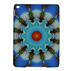 Pattern Blue Brown Background Ipad Air 2 Hardshell Cases