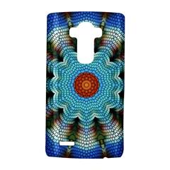 Pattern Blue Brown Background Lg G4 Hardshell Case