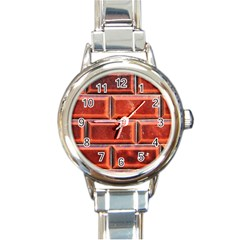 Portugal Ceramic Tiles Wall Round Italian Charm Watch