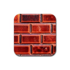 Portugal Ceramic Tiles Wall Rubber Square Coaster (4 Pack)