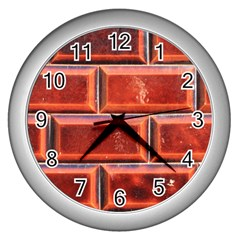 Portugal Ceramic Tiles Wall Wall Clocks (silver)