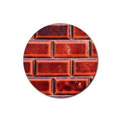Portugal Ceramic Tiles Wall Rubber Coaster (round)