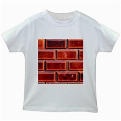 Portugal Ceramic Tiles Wall Kids White T Shirts