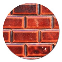 Portugal Ceramic Tiles Wall Magnet 5  (round)