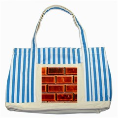Portugal Ceramic Tiles Wall Striped Blue Tote Bag