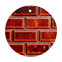 Portugal Ceramic Tiles Wall Round Ornament (two Sides)