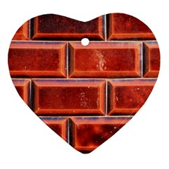 Portugal Ceramic Tiles Wall Heart Ornament (two Sides)