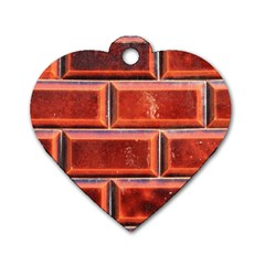 Portugal Ceramic Tiles Wall Dog Tag Heart (one Side)