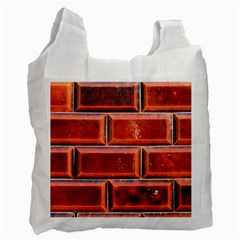 Portugal Ceramic Tiles Wall Recycle Bag (one Side)