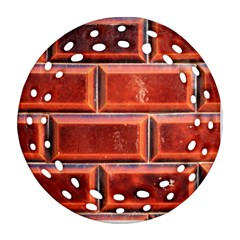 Portugal Ceramic Tiles Wall Round Filigree Ornament (two Sides)